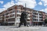 "Escultura de Nagel conocida como ""La Patata"" - Foto 1"