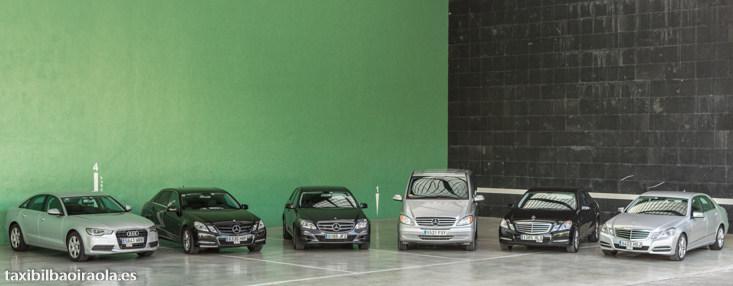 Taxi 7 plazas Mercedes Vito Mercedes Clase E Audi A6 Taxi en Bilbao y Bizkaia