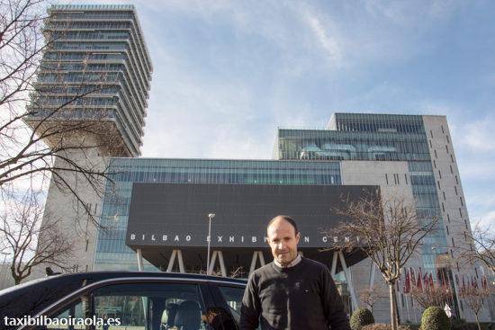 Traslado en taxi al BEC Bilbao Exhibition Centre Ferias - Taxi Bilbao Iraola