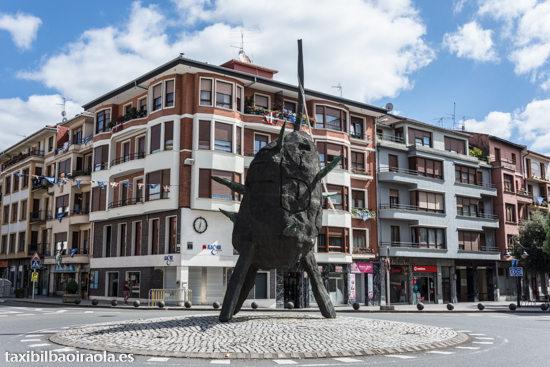 La escultura de Nagel La Patata